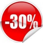 Скидка до 30% от рекомендованной розницы при оптовых закупках