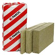 Минеральные плиты для вентилируемых фасадов  PAROC WAS 50